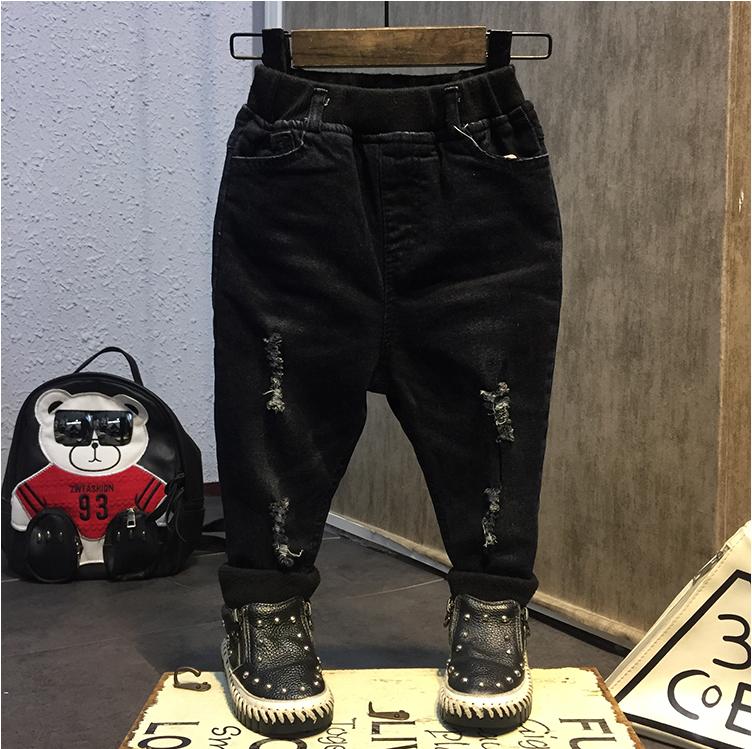 กางเกง (ด้านในกำมะหยี่) สีดำ แพ็ค 5 ชุด ไซส์ 7-9-11-13-15