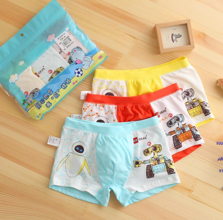 กางเกงในเด็ก คละสี แพ็ค (1 ถุง มี 3 ตัว แพ็ค 8 ถุง รวม 24 ตัว) ไซส์ M