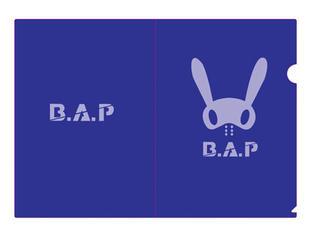 แฟ้ม B.A.P (สีน้ำเงิน)
