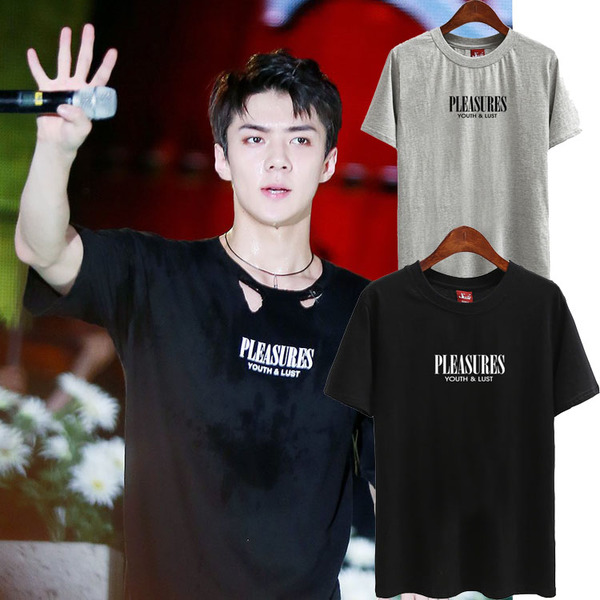 เสื้อยืด เสื้อแฟชั่นเกาหลี EXO EX'ACT SEHUN