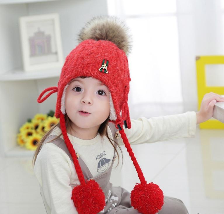 หมวก สีแดง แพ็ค 5ใบ ไซส์ 1-8 ปี รอบศรีษะ22 * 23 ซม