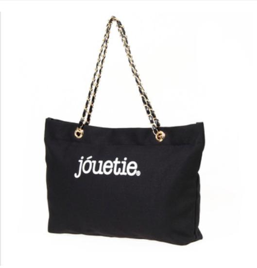 GrabMeNow Tote Bag Jouetie (Black)