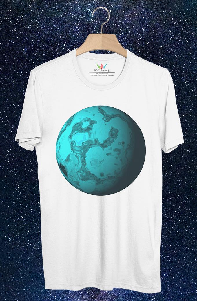 BP399 เสื้อยืด Uranus:ดาวยูเรนัส