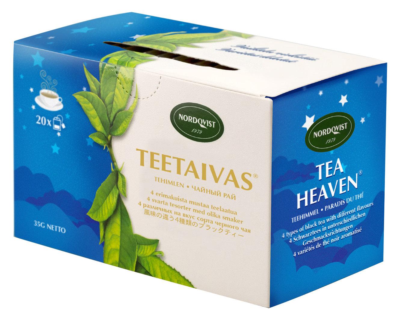ชา Nordqvist : Tea Heaven bagged