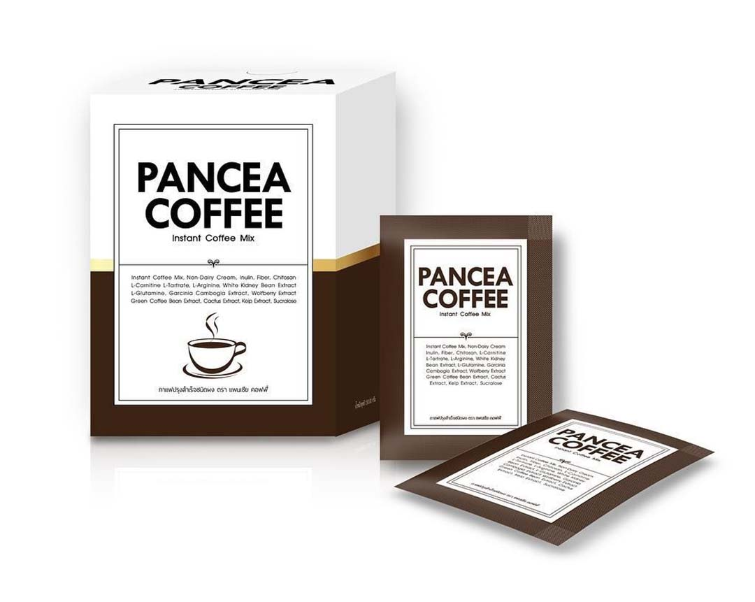 Pancea Coffee กาแฟปรุงสำเร็จชนิดผง ตรา แพนเซีย คอฟฟี่