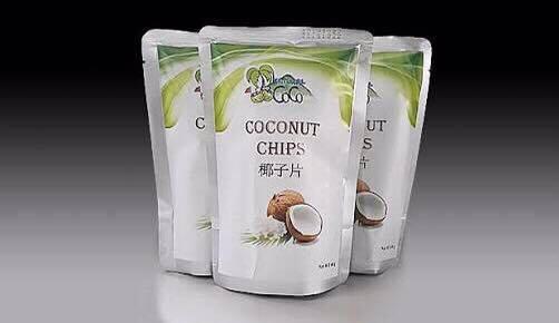 มะพร้าวอบกรอบ coconut chips