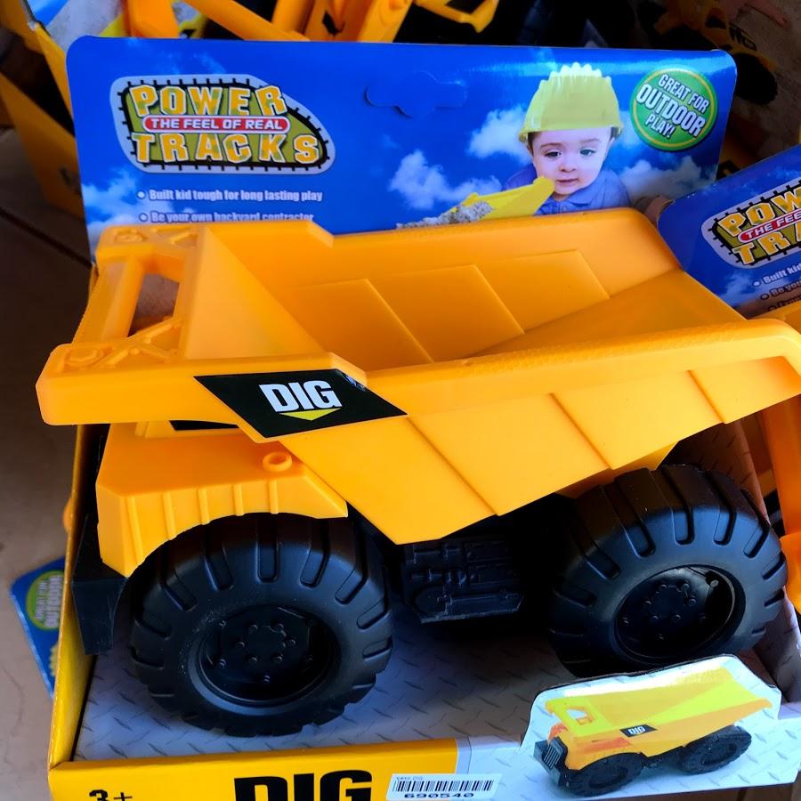 ของเล่นเด็ก ชุดรถ DIG