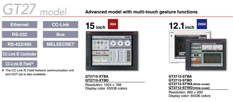 HMI GOT2000 GT2308-VTBA