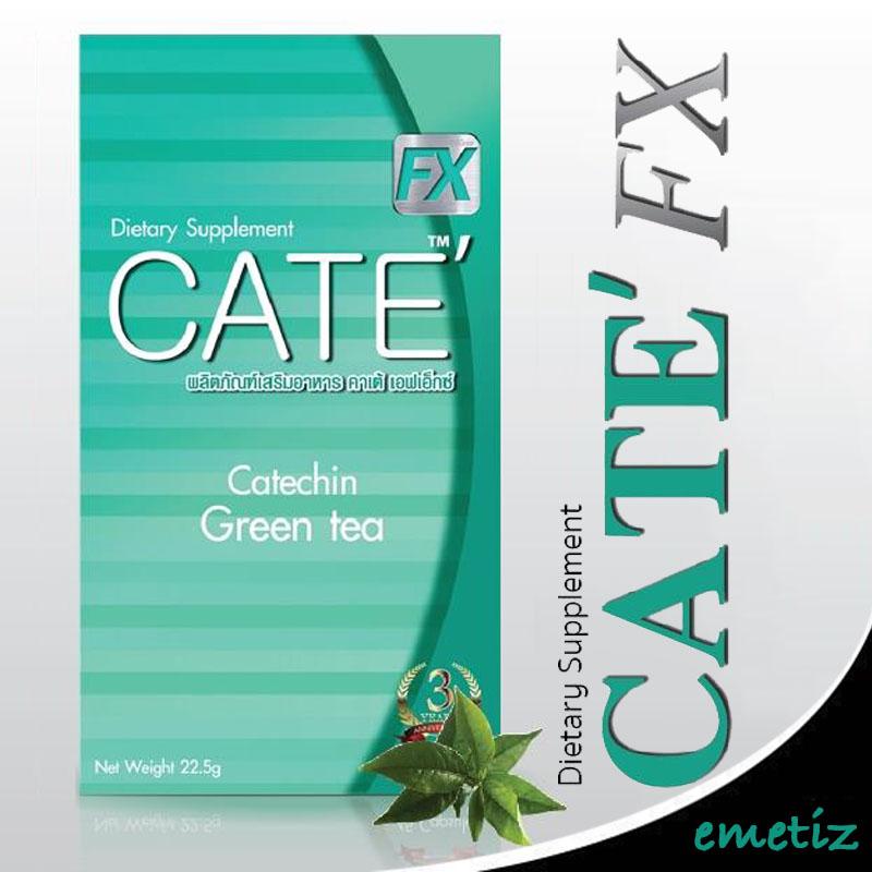 ผลิตภัณฑ์ลดน้ำหนัก Maxx Cate, คาเต้
