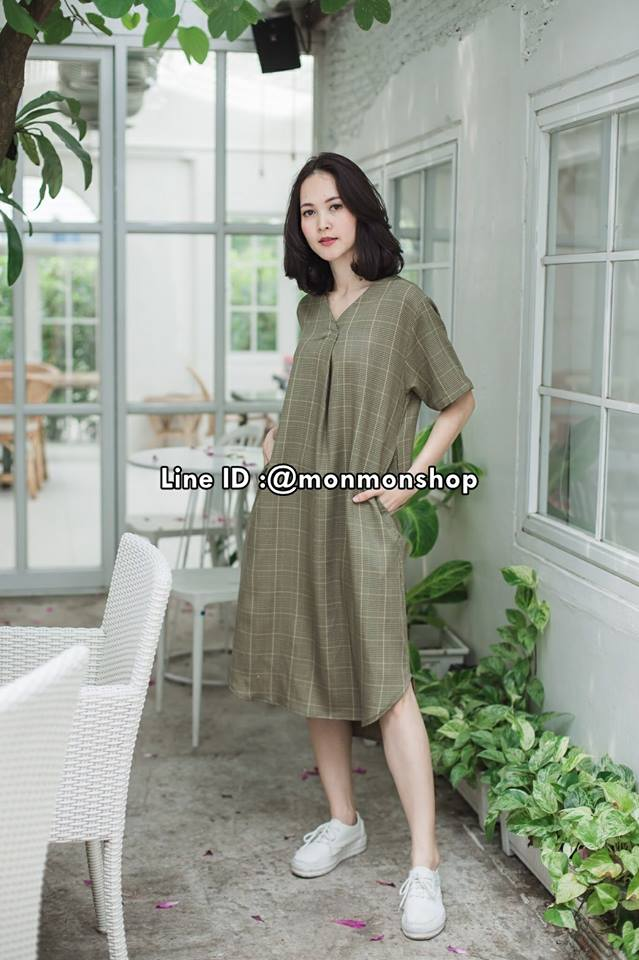 Mia Dress_Green