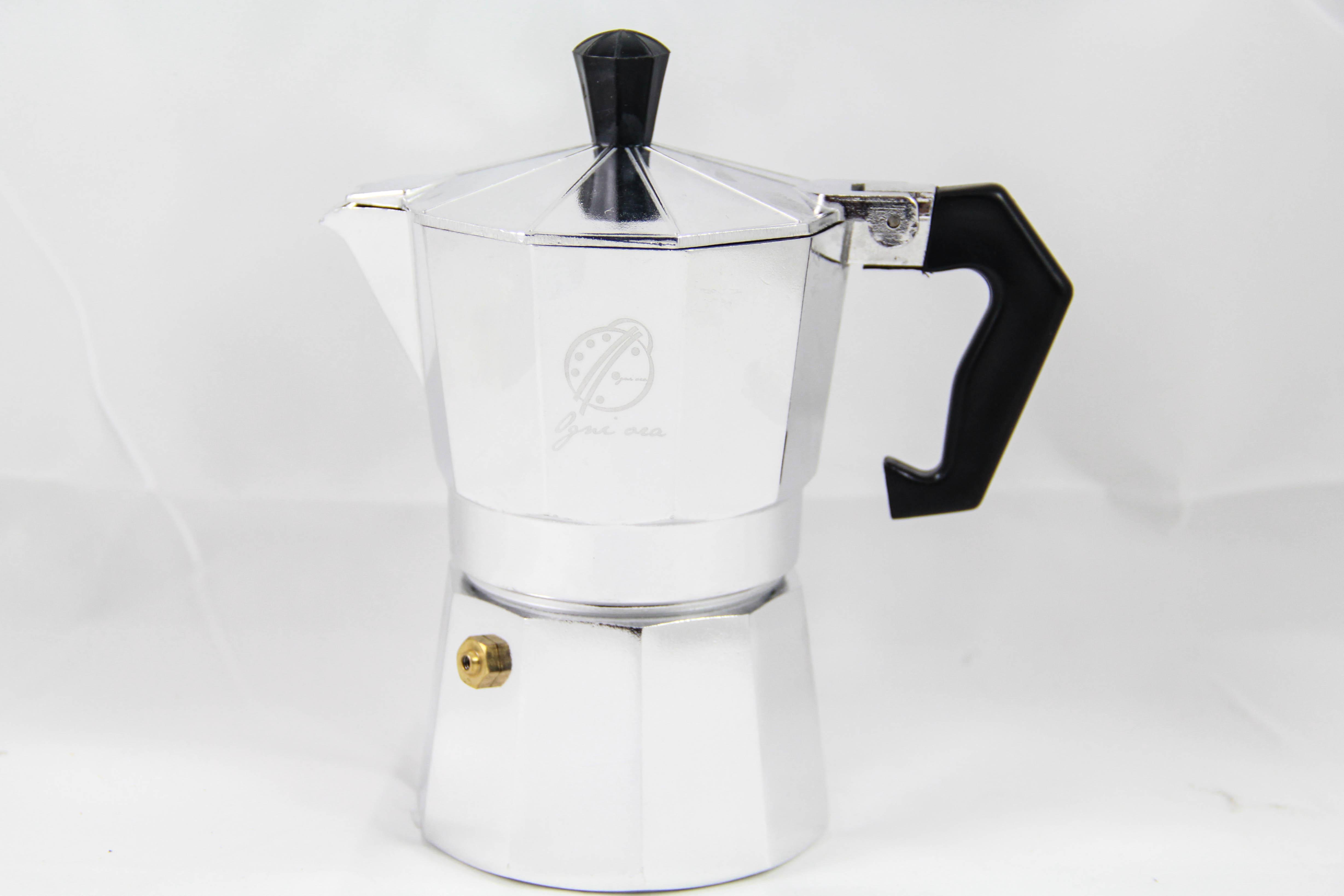 Moka pot 3 cups สีเงิน (Aluminium)