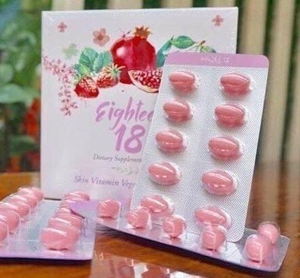 เอธธีน Eighteen 18 – ผลิตภัณฑ์เสริมอาหาร ที่มี S.O.D สารต้านอนุมูลอิสระ