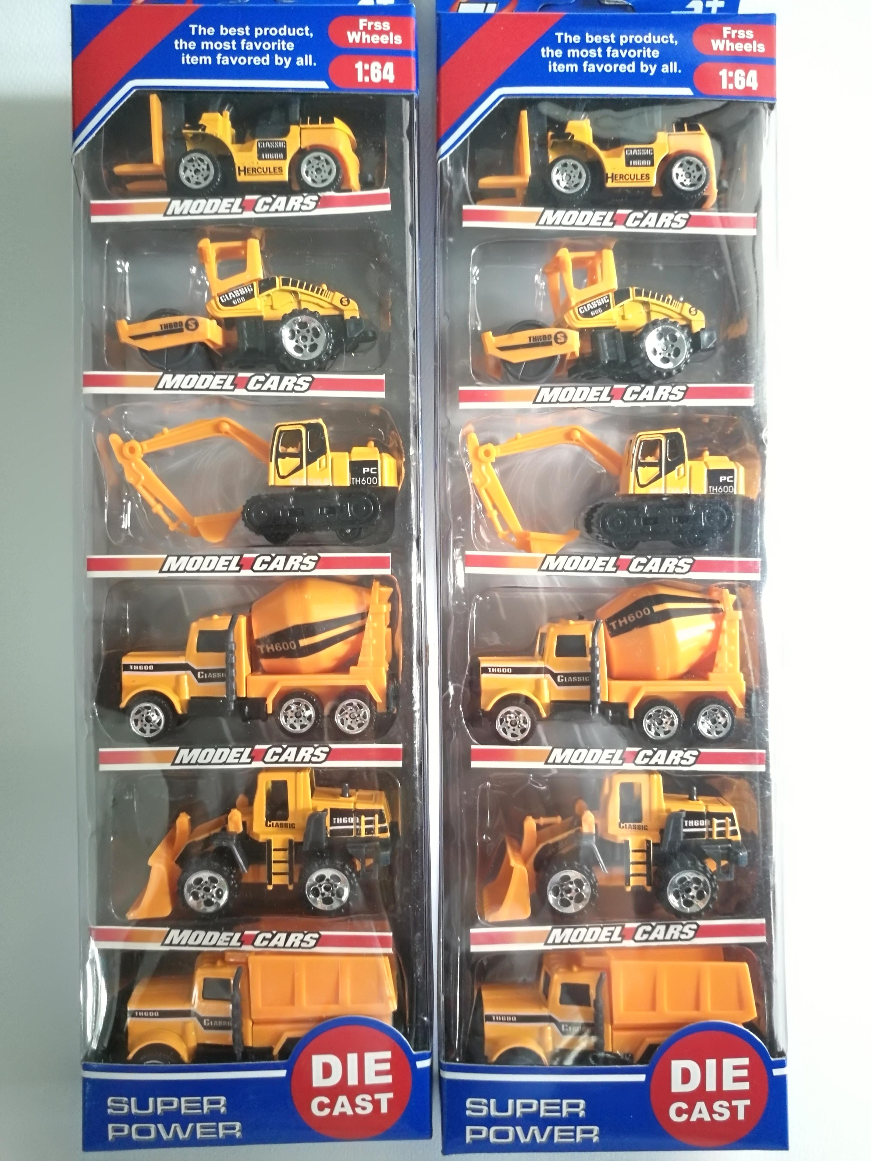 รถโมเดลจิ๋วตระกูลรถอุตสาหกรรมต่าง ๆ ส่งฟรีพัสดุไปรษณีย์