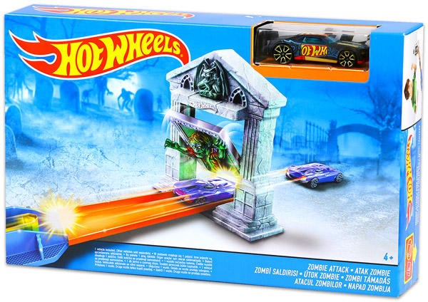 รถ Hot Wheels Zombie Attack Track Set ส่งฟรี