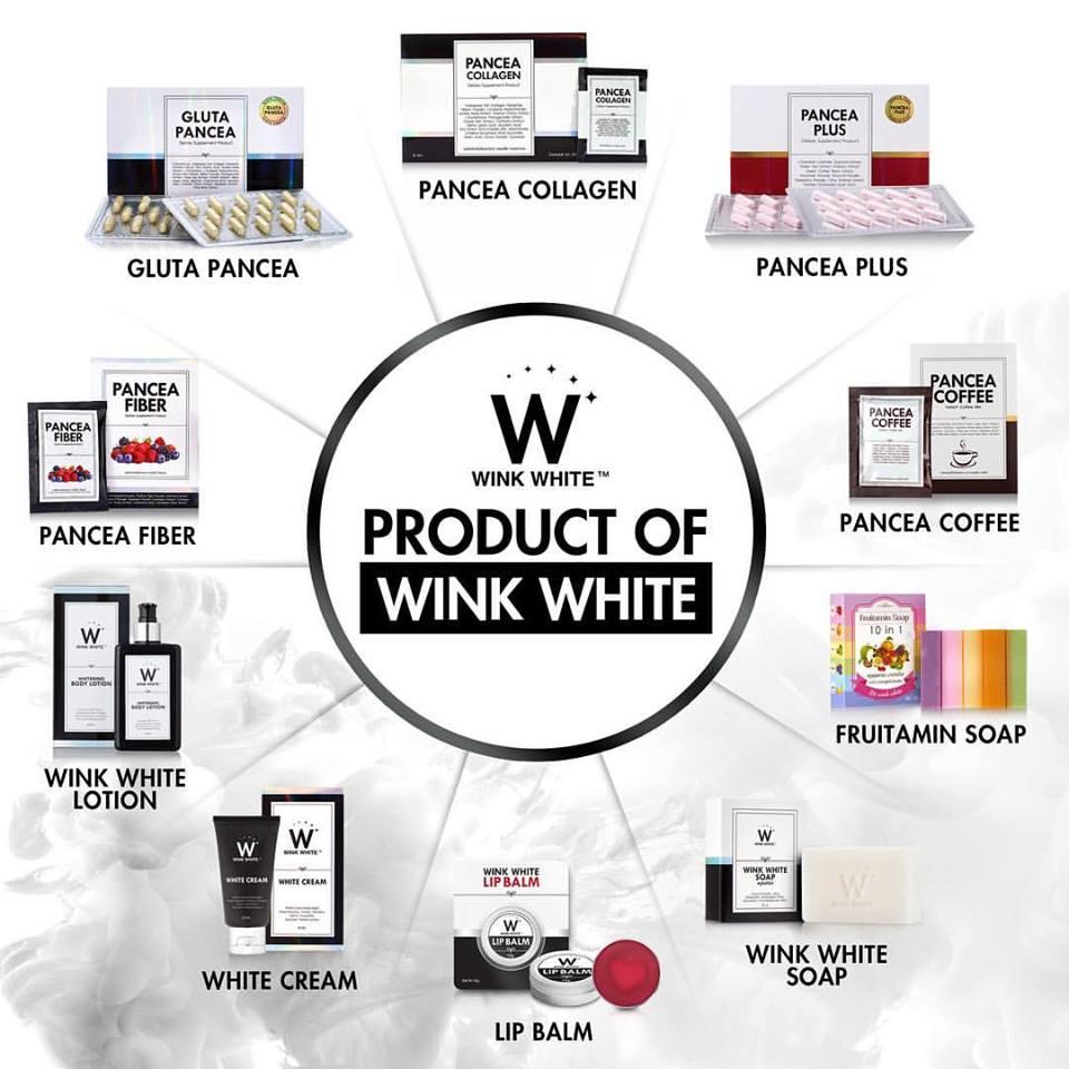 pancea wink white