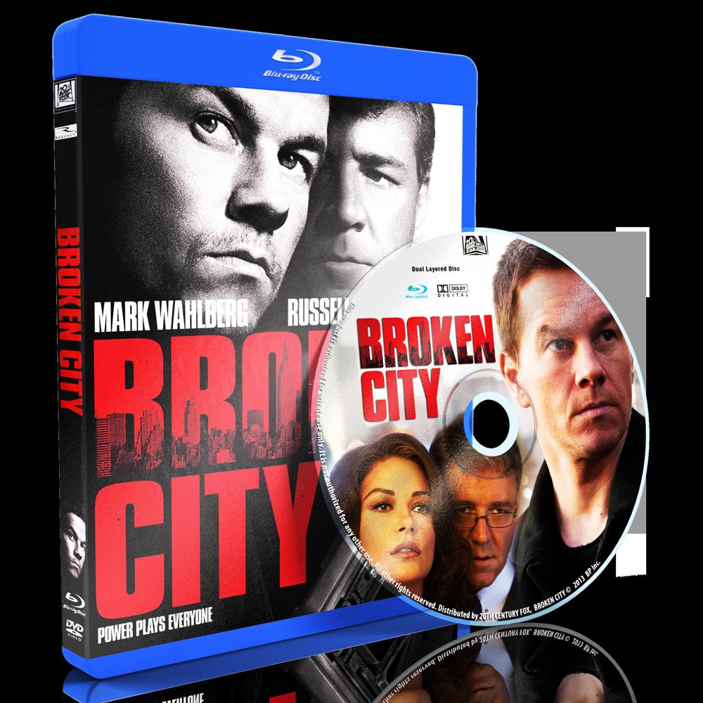 U13227 - Broken City (2013) แผ่นสกรีน