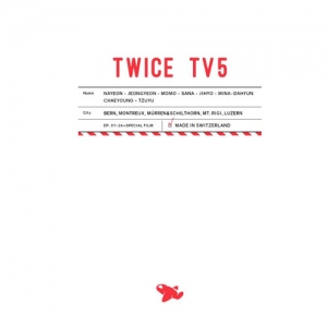 TWICE - TWICE TV5 TWICE in SWITZERLAND DVD พร้อมส่ง