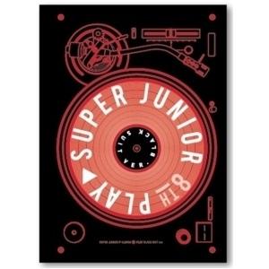 Super Junior - Album Vol.8 [PLAY] (Black Suit Ver.)