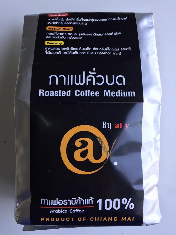 กาแฟคั่วบด คั่วกลาง 250 g. @y Coffee Ground Medium Roast 250 g.