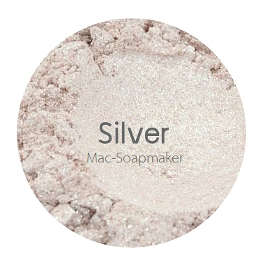 Silver mica pearlescent pigment/ สีบอนซ์เงินประกายมุก