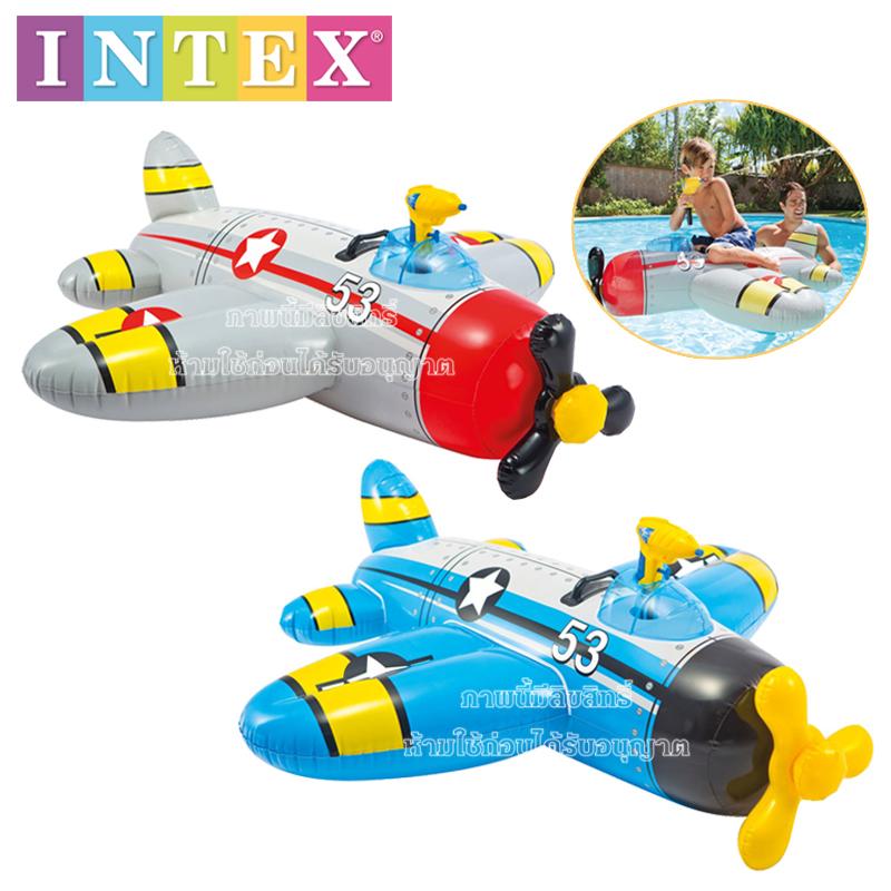 intex-แพเครื่องบินเป่าลมฉีดน้ำได้-intex-57537