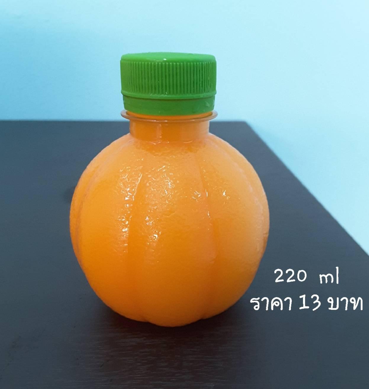 น้ำส้ม 220 ml 75 ขวด