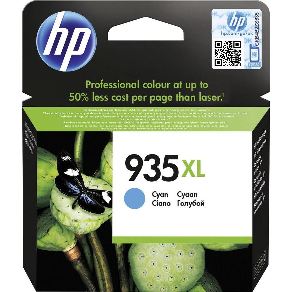 HP 935XL CYAN INK CARTRIDGE สีฟ้า