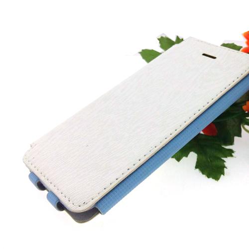 เคสไอโฟน5/5S เคสฝาพับ สีขาว