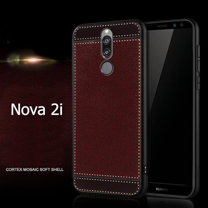 (674-013)เคสมือถือ Case Huawei Nova 2i/Mate10Lite เคสนิ่ม Cortex Mosaic