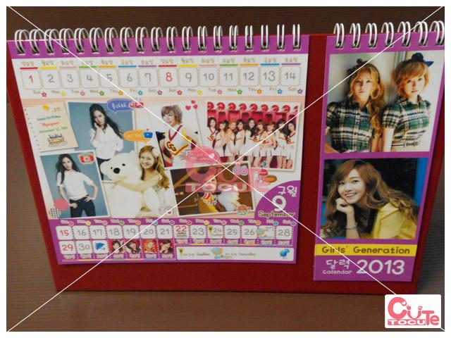 Girls' Generation CALENDAR 2013