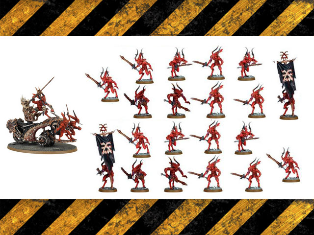 Choas daemons Khorne bundle set