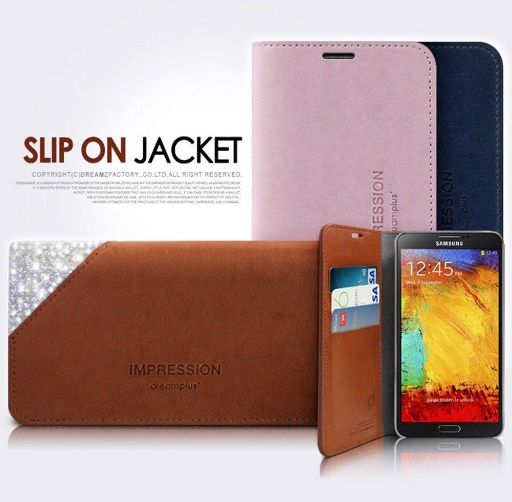 SLIPON : Diary Flip Cover Case for Samsung Galaxy S5, SV, G900