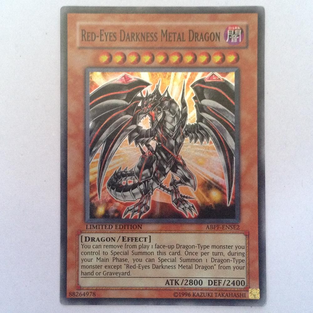 ABPF-ENSE2 : Red-Eyes Darkness Metal Dragon (Super Rare) 95%