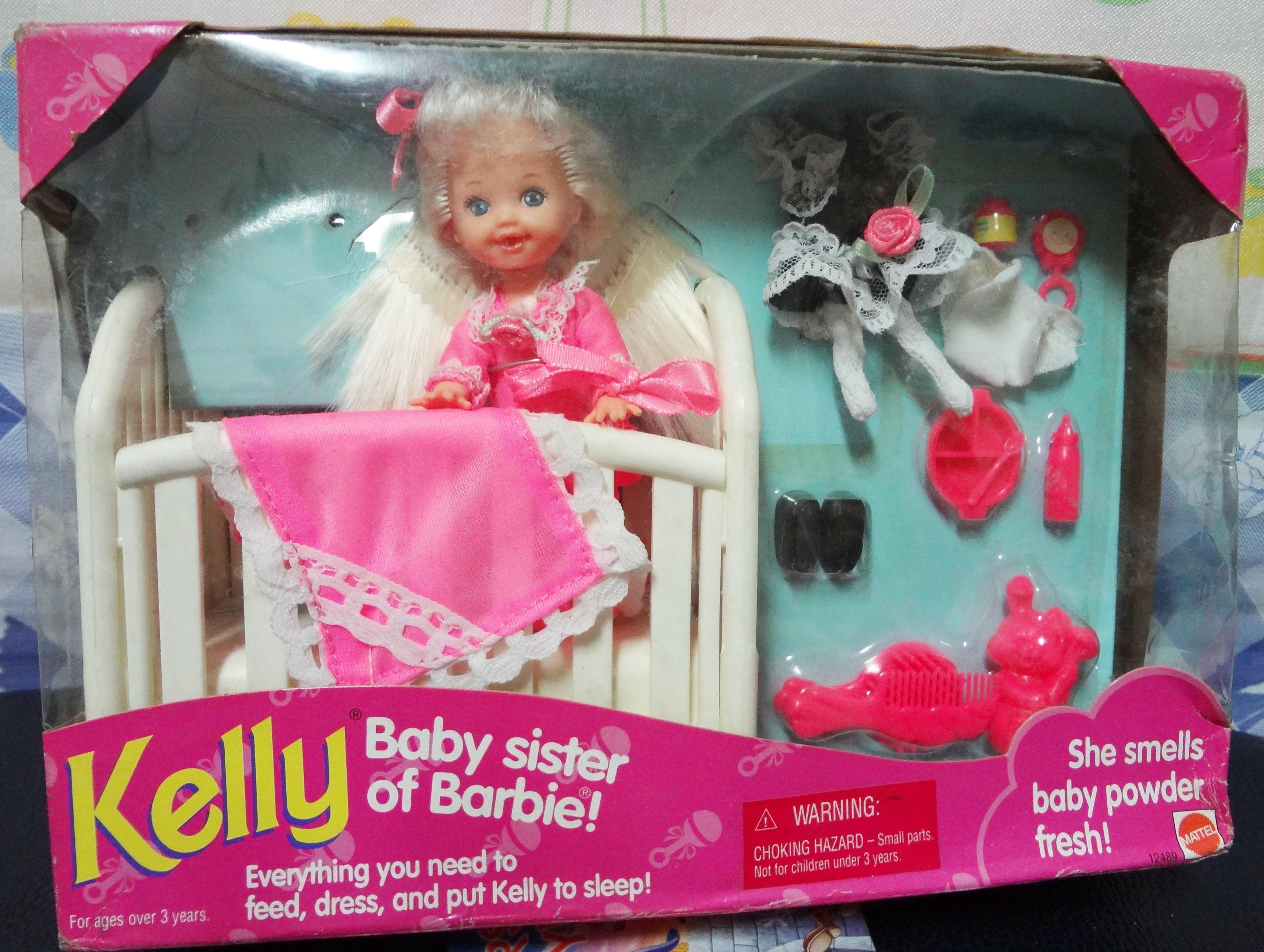 ตุ๊กตา Kelly-Baby sister of Barbie