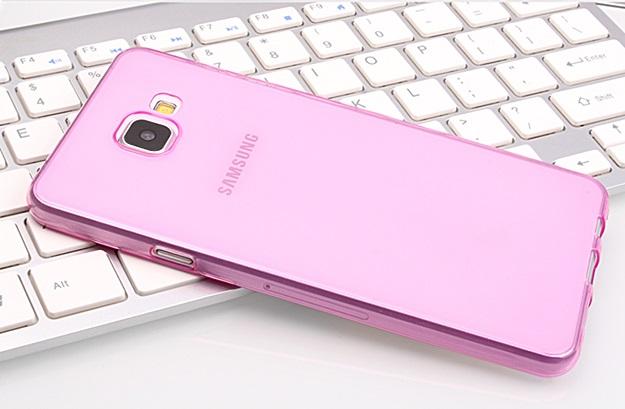 (พร้อมส่ง)เคสมือถือซัมซุง Case Samsung A7 (2016) เคสนิ่มใสคลุมเครื่องแบบบางกันรอยนิ้วมือ