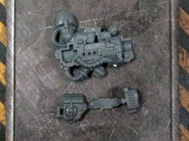 Dark Angels Deathwing Plasma Cannon