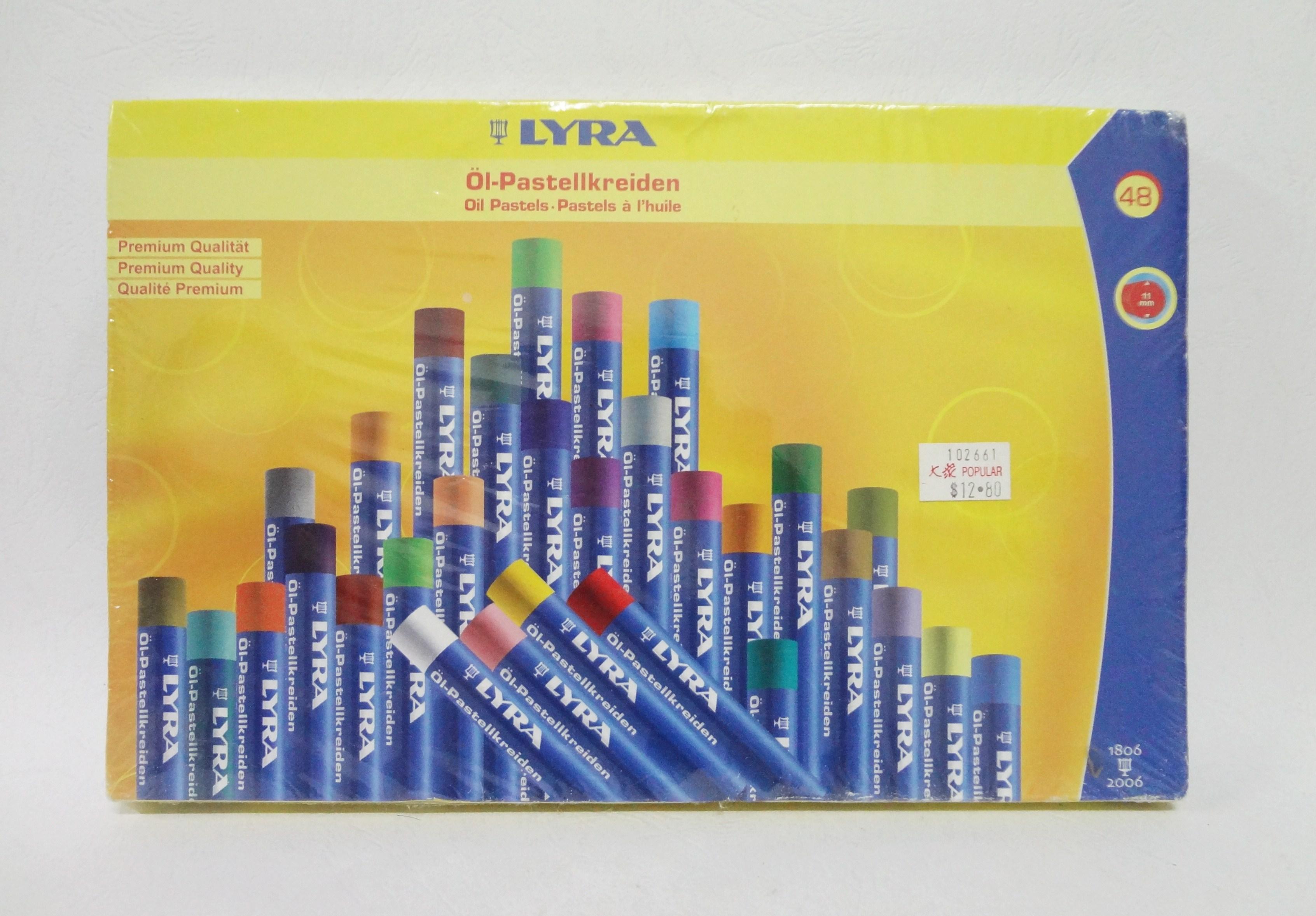 สี Oil Pastels ยี่ห้อ LYRA 48 สี