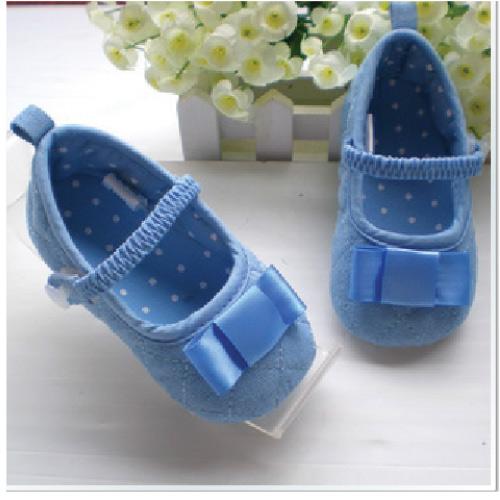 BE2040 (Pre) รองเท้าผ้า สาวน้อย (0-1 ขวบ)