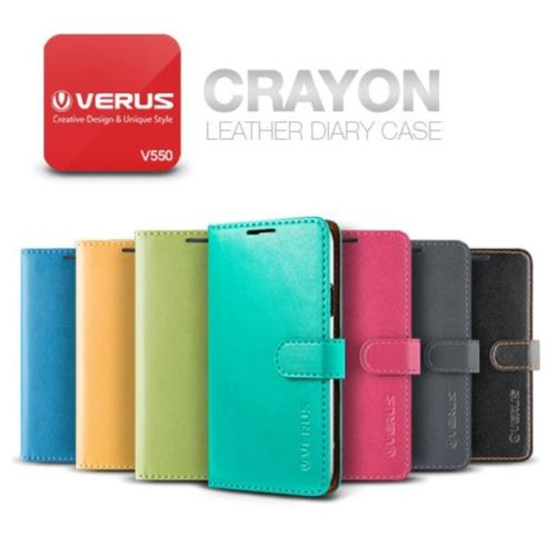 VERUS : Crayon Leather Diary Case Cover for Samsung Galaxy S5, SV, G900