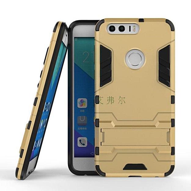 (002-155)เคสมือถือ Case Huawei Honor 8 เคสพลาสติกสไตล์ IronMan