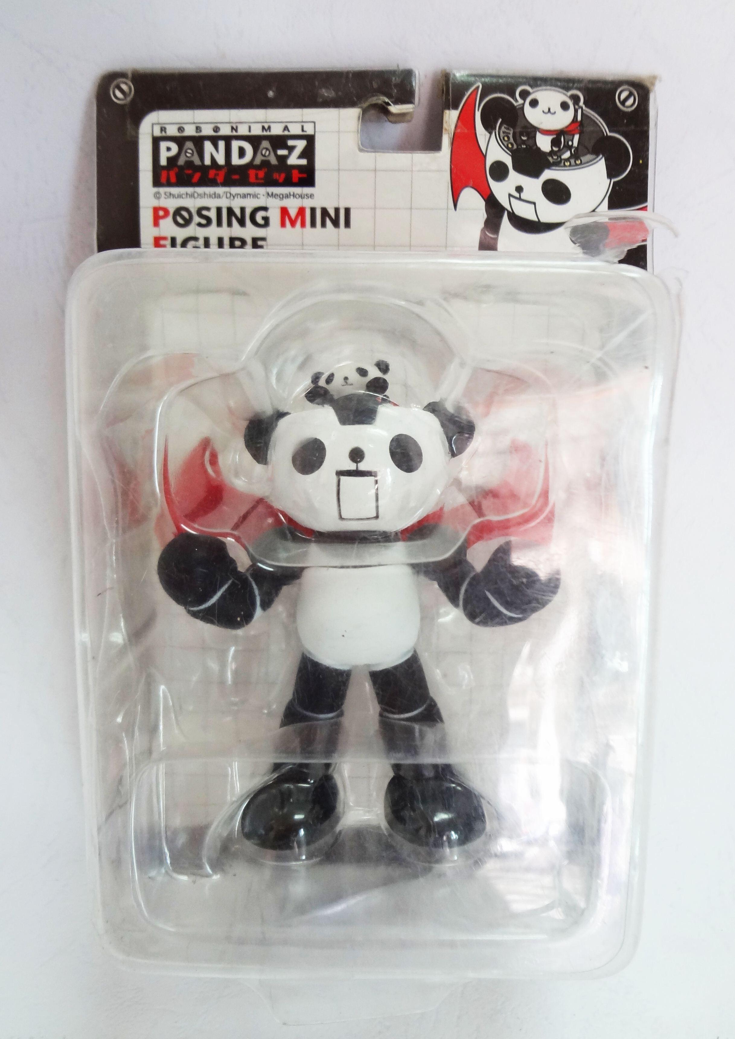 Robonimal Panda-Z Posing Mini Figure