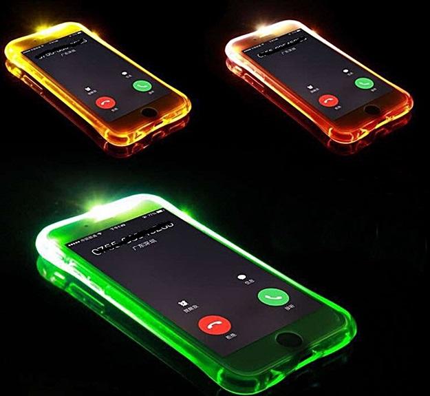 (502-010)เคสมือถือ Case OPPO R9 Plus เคสนิ่มใสสไตล์กันกระแทก Flash LED