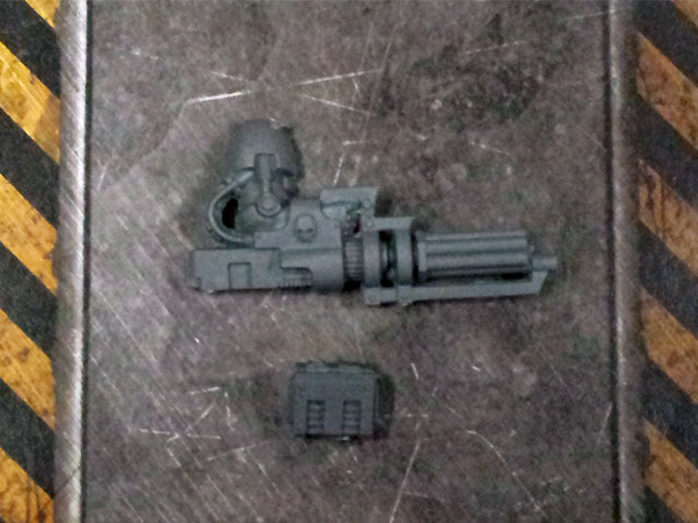 Space Marine Terminator Assault Cannon