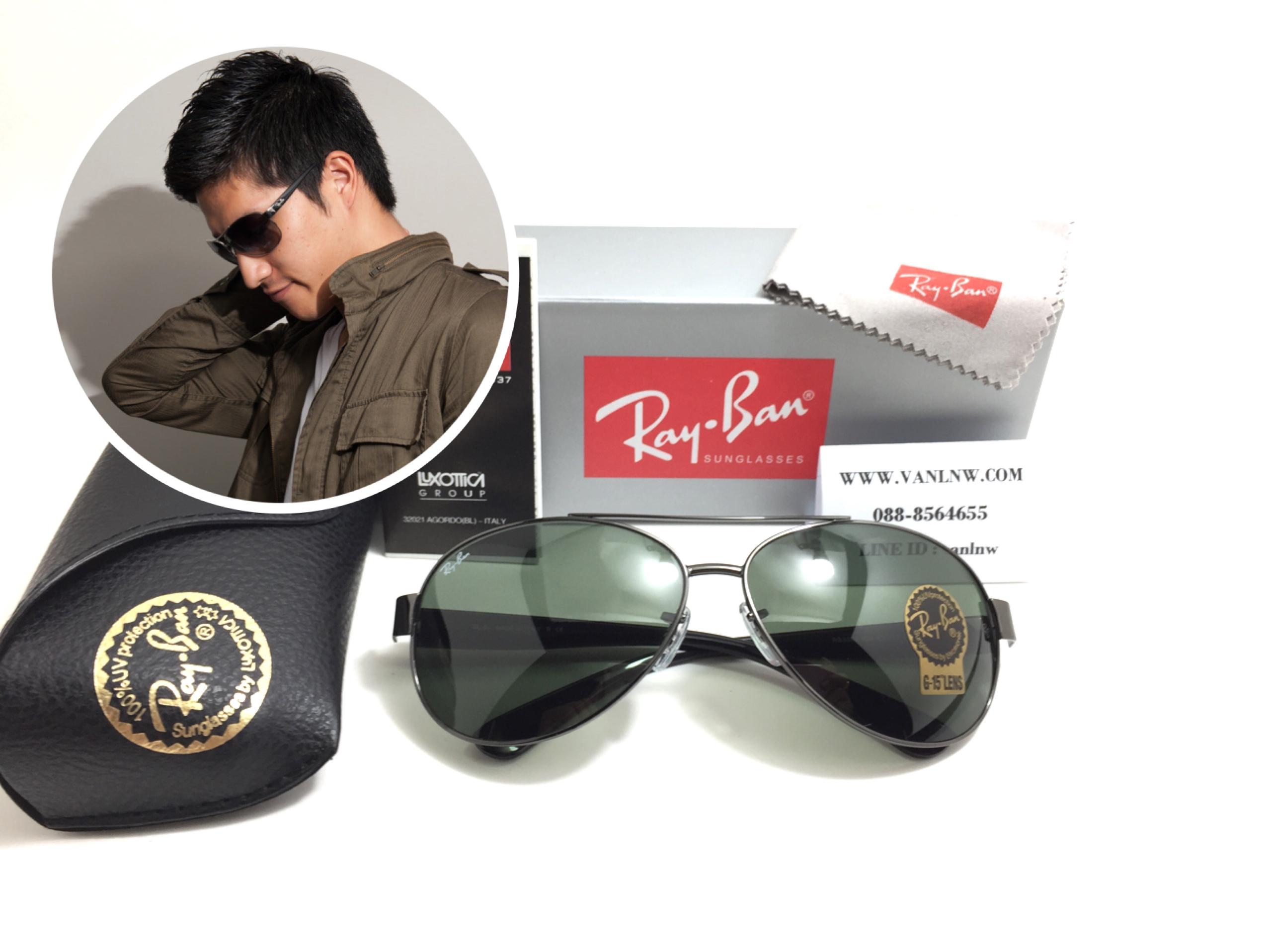 แว่นกันแดด RB 3386 004 63-13 2N <กันเมทัล>