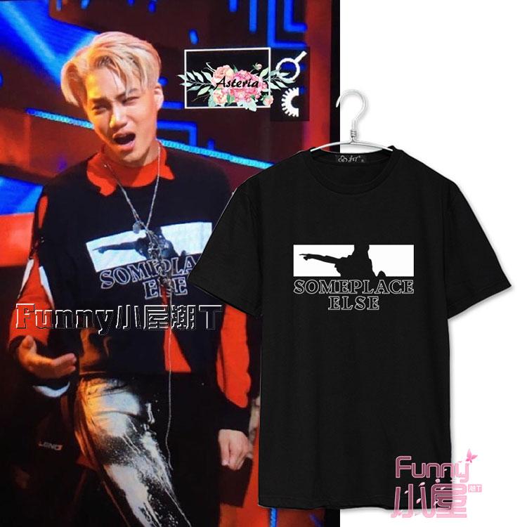 เสื้อยืด SOMEPLACE ELSE Sty.KAI EXO Monster -ระบุสี/ไซต์-