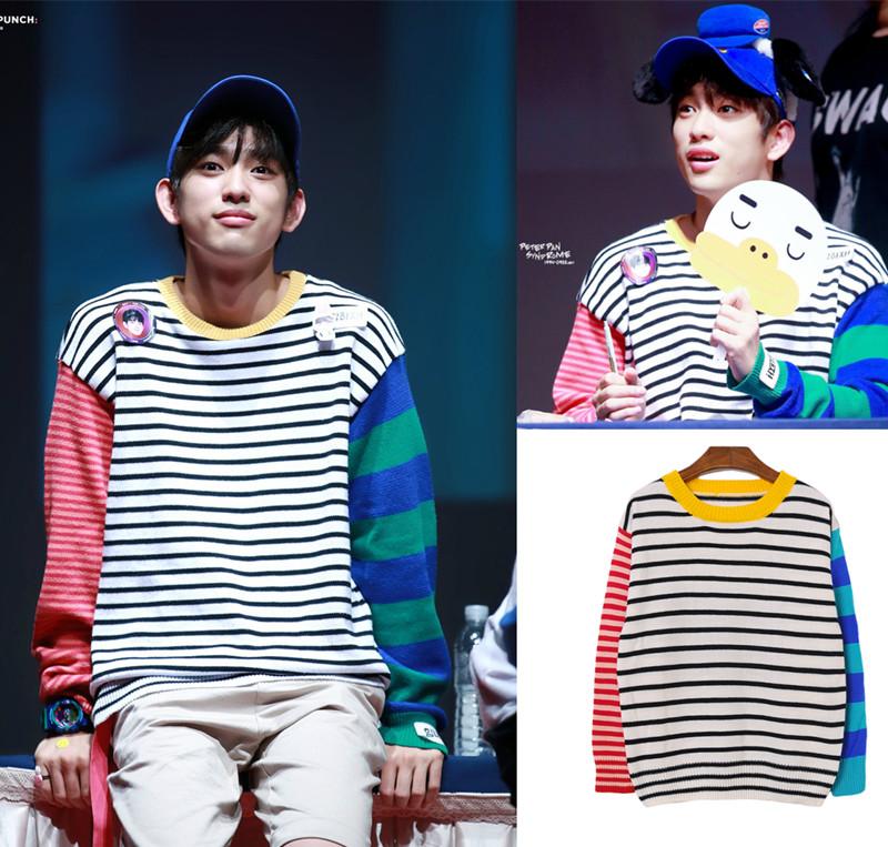 เสื้อแขนยาว GOT7 Junior 《Just Right》 -ระบุไซต์-