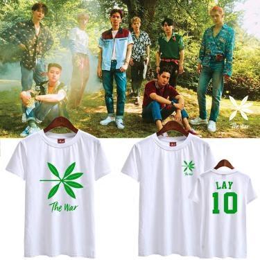 เสื้อยืด The War #KOKOBOP member -ระบุสี/ไซต์/สมาชิก-