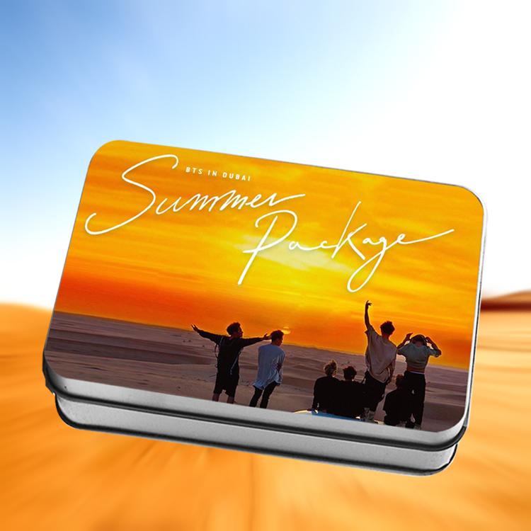 LOMO BOX SET BTS SUMMER PACKAGE IN DUBAI (30pc)