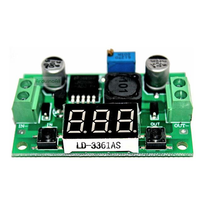 LM2596 Converter Buck Step Down Regulator Power Module แบบ mini