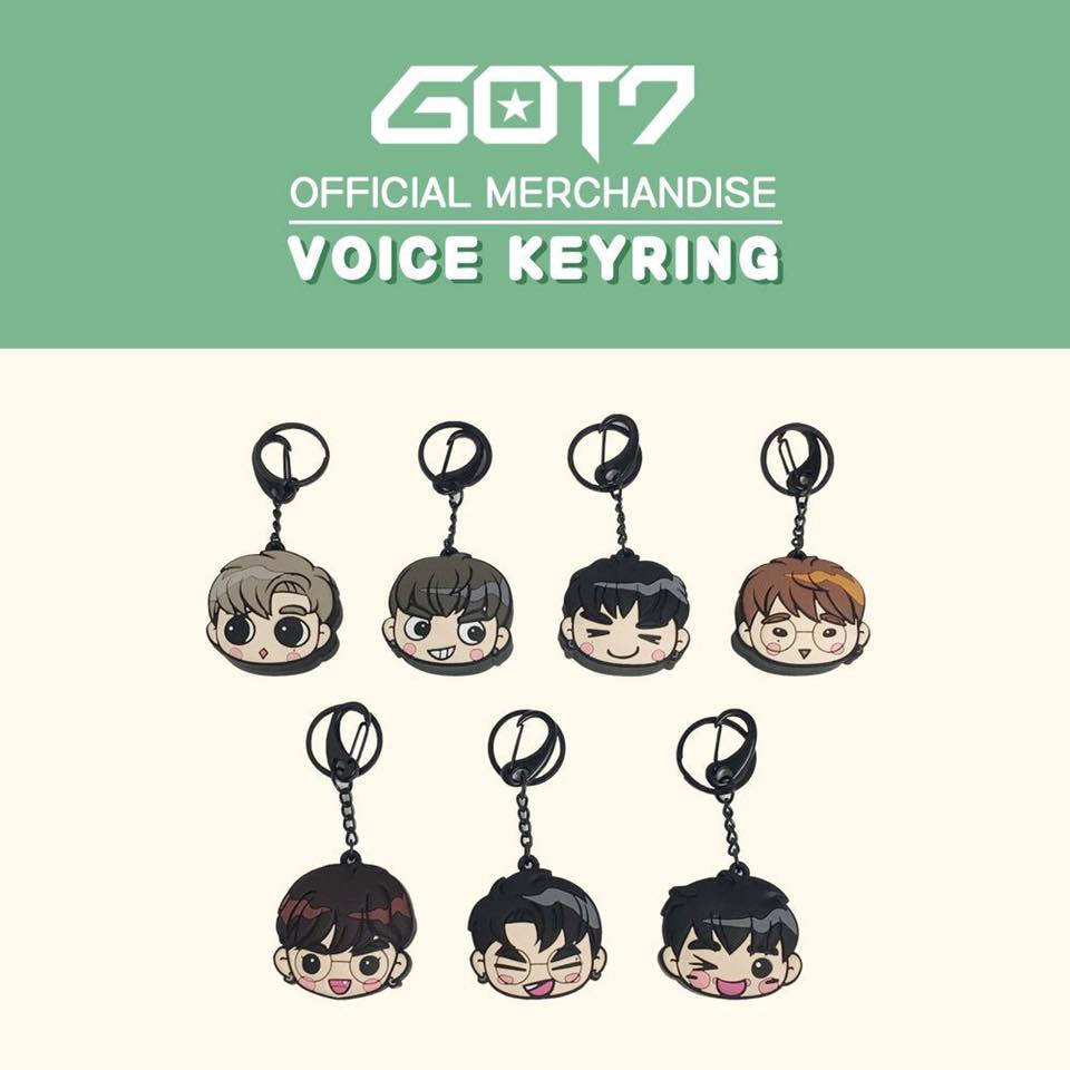 (แฟนเมค) GOT7 VOICE KEY RING -ระบุสมาชิก-